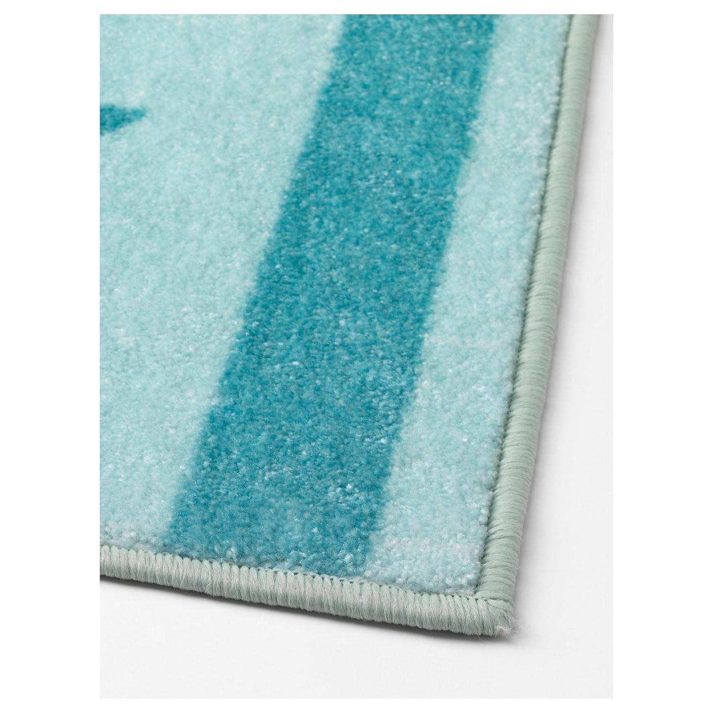 Himmelsk alfombra turquesa 133 x 160 cm ikea for Alfombras ikea