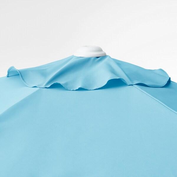 HÖGÖN sombrilla colgante azul claro 170 g/m² 239 cm 270 cm