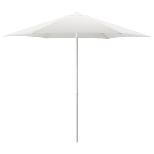 HÖGÖN sombrilla blanco 170 g/m² 239 cm 270 cm 38 mm