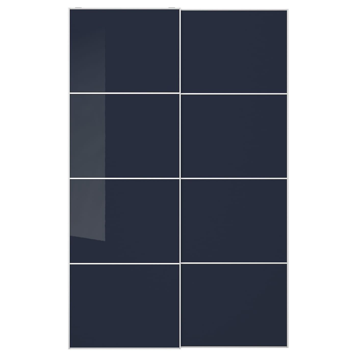 Puertas Correderas Para Armarios Pax Compra Online Ikea - Vestidores-con-puertas-correderas