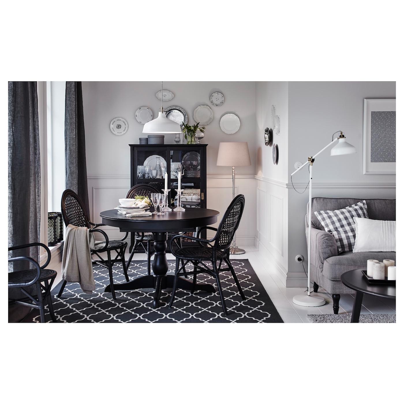 Hovslund alfombra pelo corto gris oscuro 160 x 230 cm ikea - Alfombra gris ikea ...