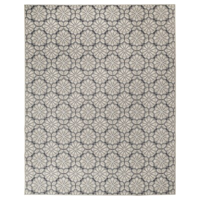 HUNDSLUND Alfombra int/exterior, gris/beige, 200x250 cm