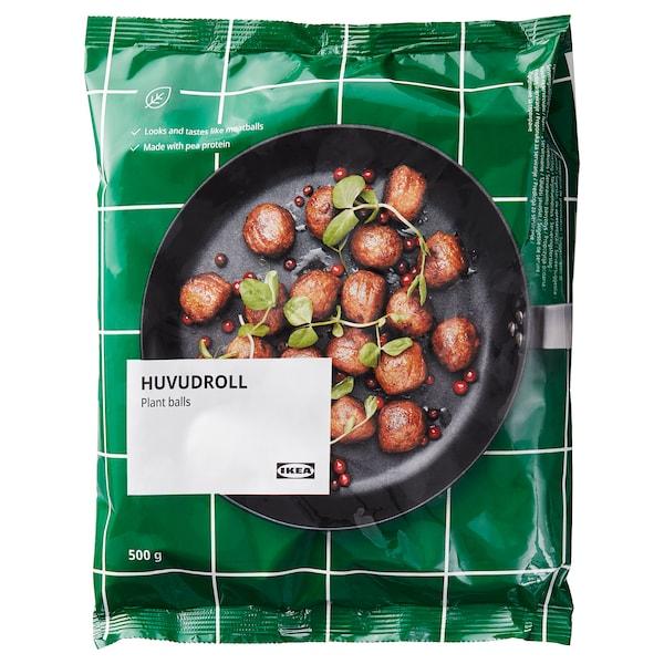 HUVUDROLL Albóndigas proteína vegetal, congelado, 500 g