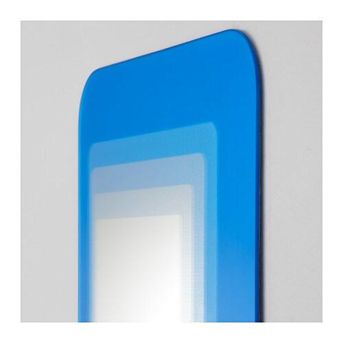 Hylkje espejo azul vivo ikea - Que hacer si se rompe un espejo ...