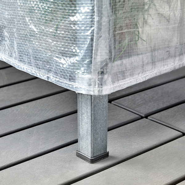 HYLLIS Funda, transparente/int/ext, 60x27x74 cm