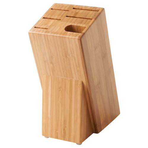 HYVLA taco de cuchillos bambú 10 cm 25 cm