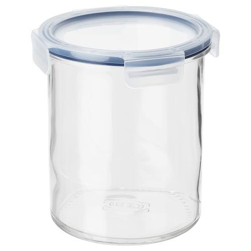 IKEA 365+ bote con tapa vidrio/plástico 17 cm 14 cm 1.7 l
