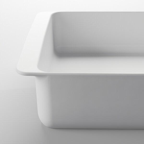 IKEA 365+ Fuente de horno, blanco, 32x20 cm