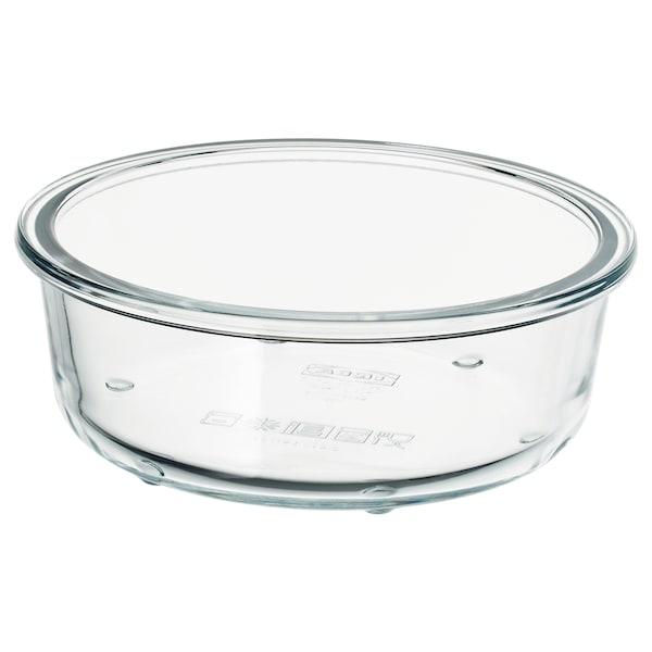 IKEA 365+ Recipiente, redondo/vidrio, 400 ml