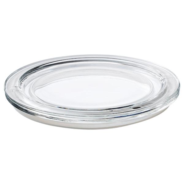 IKEA 365+ Tapa, redondo/vidrio