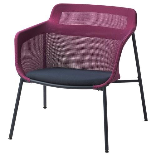 IKEA PS 2017 sillón rosa/azul 72 cm 75 cm 71 cm 49 cm 50 cm 40 cm 120 kg