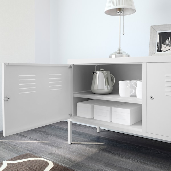 IKEA PS Armario, blanco, 119x63 cm