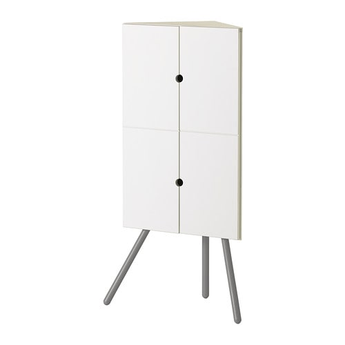 Ikea ps 2014 armario de esquina blanco gris ikea - Armario ikea ps ...