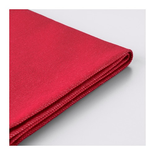 Ikea ps funda para sof cama 2 plazas vansta rojo ikea for Funda sofa 4 plazas