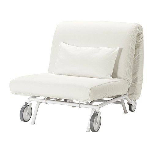 Ikea ps h vet sill n cama gr sbo blanco ikea for Sillon cama individual ikea
