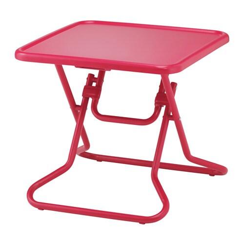 Ikea ps 2017 mesa de centro plegable rojo ikea - Mesas de tv ikea ...