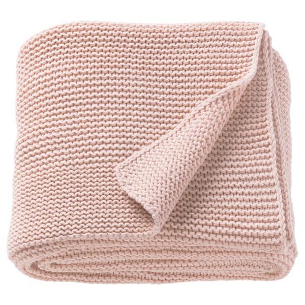 INGABRITTA manta rosa claro 170 cm 130 cm 1080 g