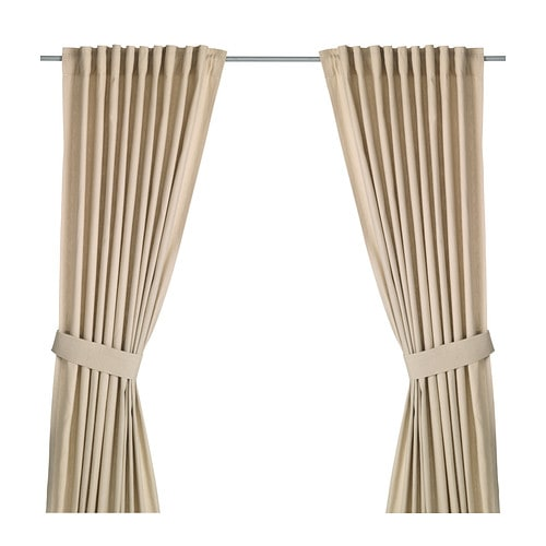 Ingert cortinas alzapa os 1par ikea for Cortinas para salon beige