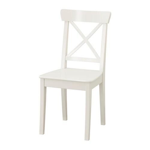 Ingolf Silla Blanco Ikea