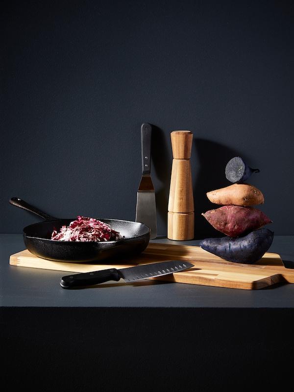INTRESSANT Molinillo para especias, acacia, 27 cm