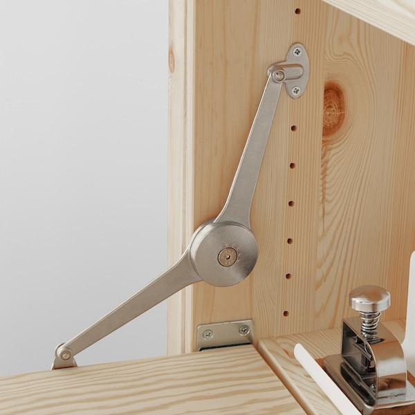 IVAR 2 módulo/almacenaje +mesa plegable, 175x30-104x179 cm