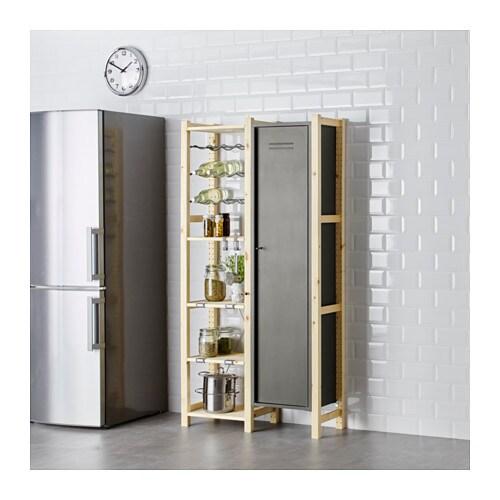 Ivar 2 secciones baldas armario c moda ikea - Ikea asturias armarios ...