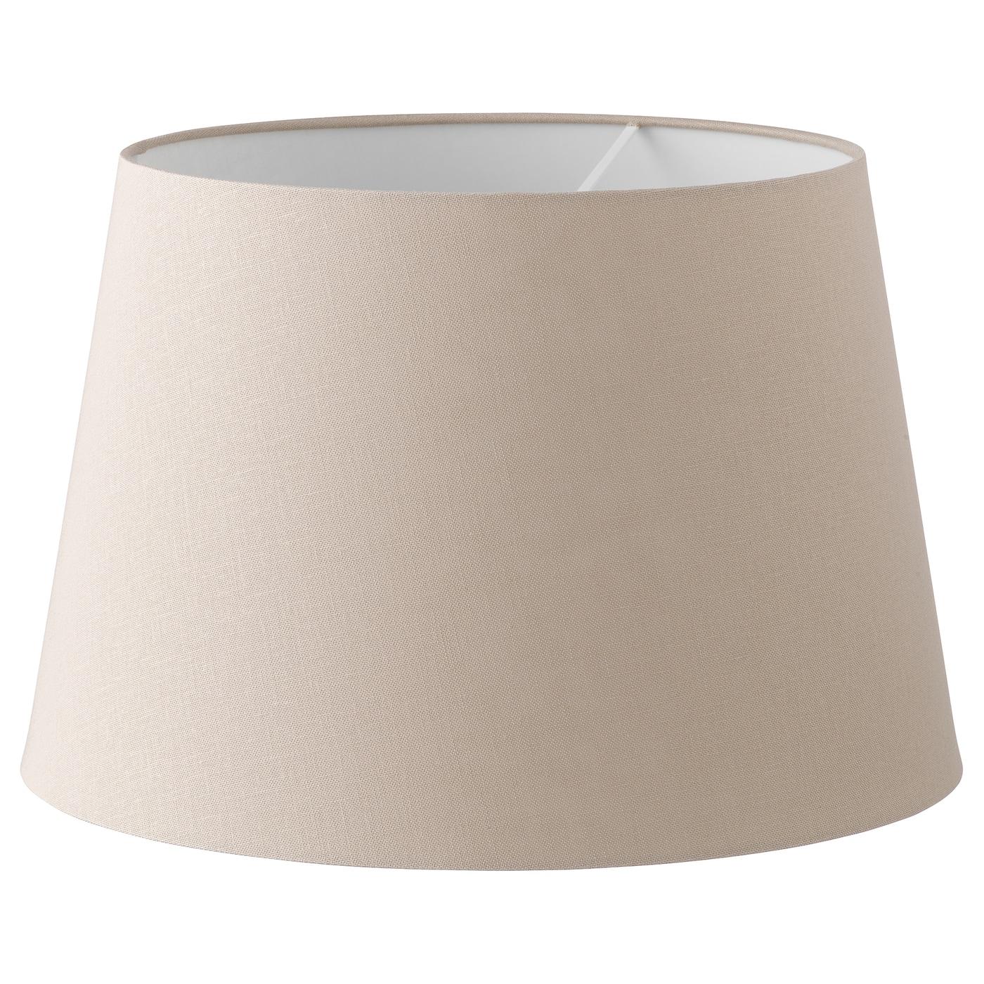 Jära Pantalla Para Lámpara Beige 44 Cm Ikea