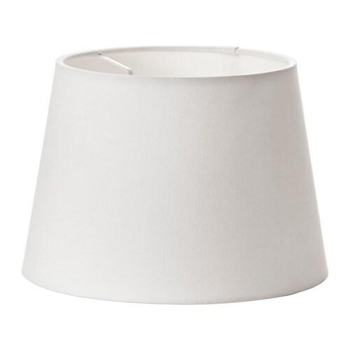 JÄRA Pantalla para lámpara, blanco