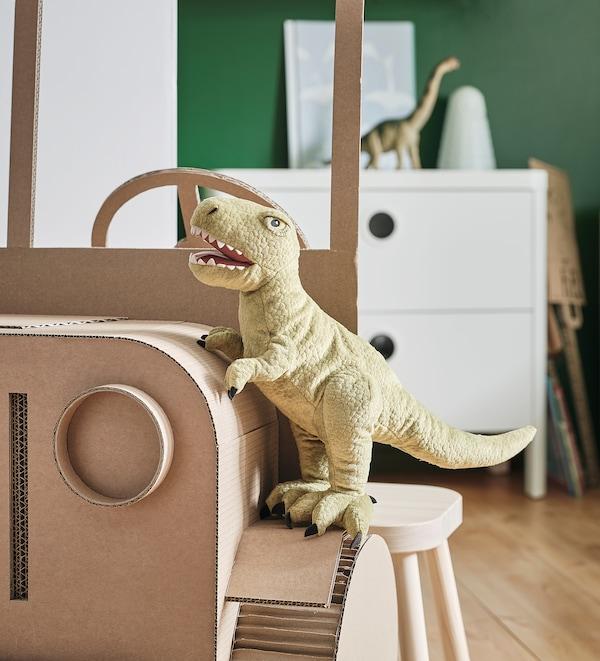 JÄTTELIK Peluche, dinosaurio/dinosaurio/tiranosauro Rex, 44 cm