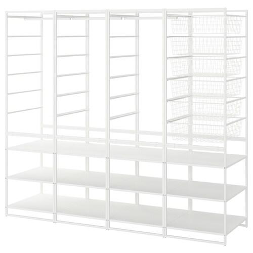 IKEA JONAXEL Estruct+cestorejilla+barra+estant
