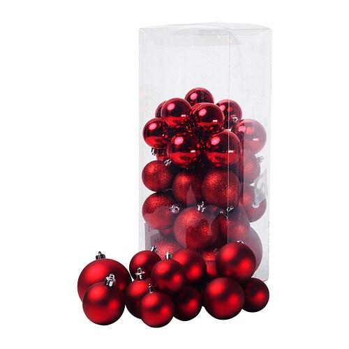 JULMYS Adorno bola, juego de 50 IKEA Resistente. No se rompe si se cae al suelo.