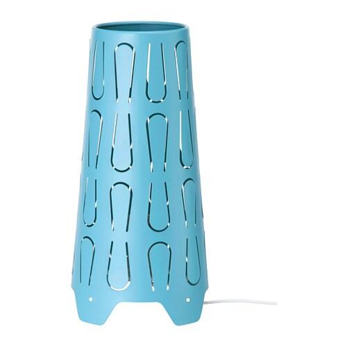 KAJUTA Lámpara de mesa, A++, azul - Últimas unidades en IKEA Barakaldo