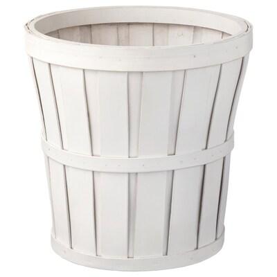 KALASA Macetero, blanco, 24 cm