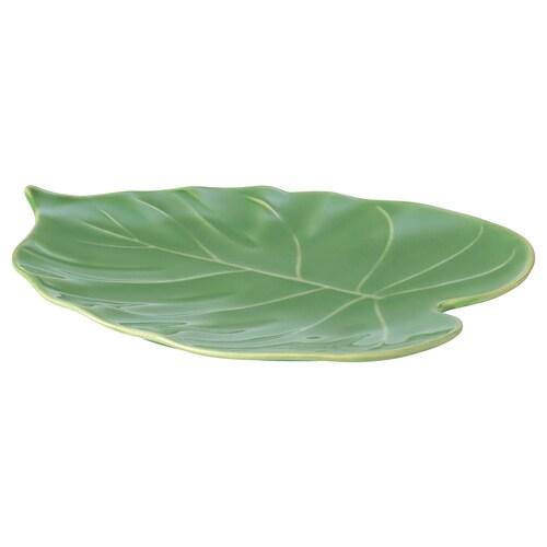 KALASFINT fuente servir monstera verde 26 cm 20 cm 3 cm