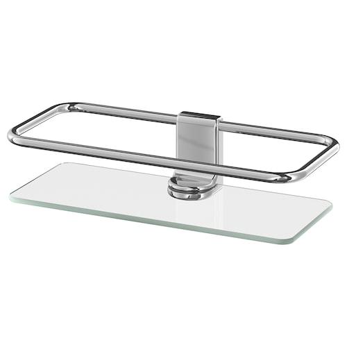 KALKGRUND estante para ducha cromado 24.1 cm 11.4 cm 6 cm