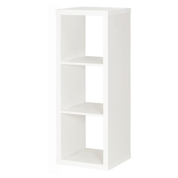 KALLAX Estantería, blanco, 42x112 cm