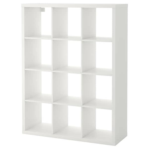 KALLAX Estantería, blanco, 112x147 cm