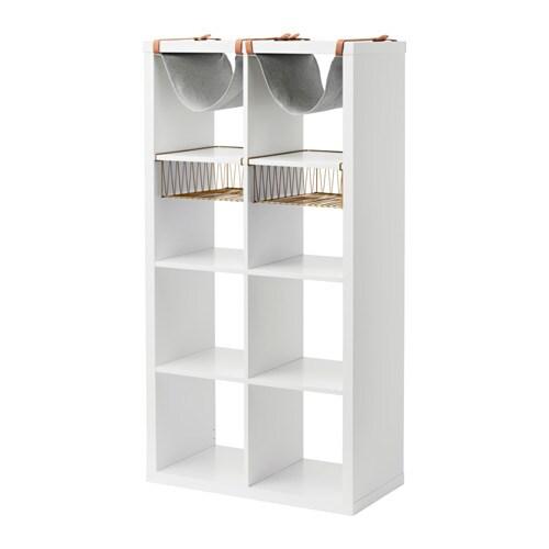 Kallax estanter a con accesorios ikea for Estanterias con puertas ikea