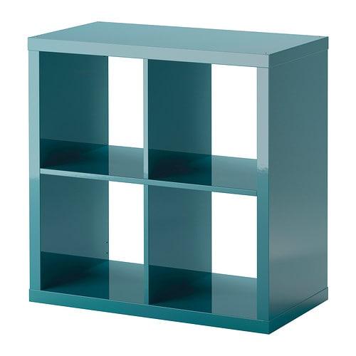 kallax estanter a alto brillo turquesa ikea. Black Bedroom Furniture Sets. Home Design Ideas