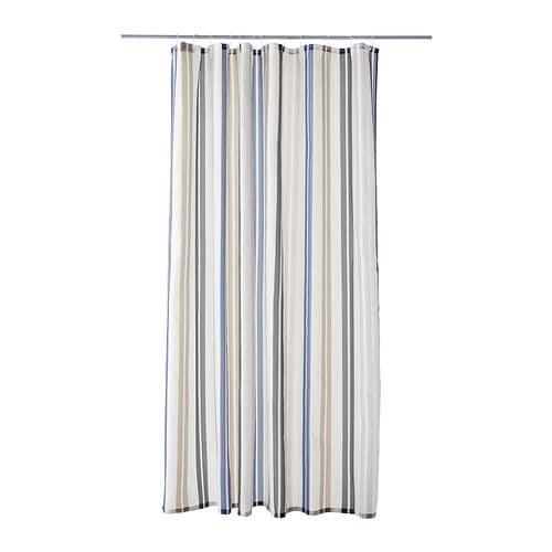 Cortinas De Baño Ofertas:KALVSJÖN Cortina de ducha Más ofertas en IKEA Tela de poliéster de