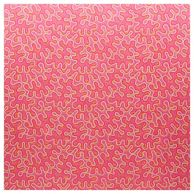 KARISMATISK Tela precortada, dibujos variados rosa, 150x300 cm