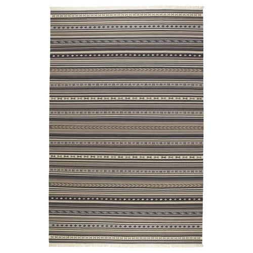 KATTRUP alfombra a mano gris 300 cm 200 cm 4 mm 6.00 m² 1150 g/m²