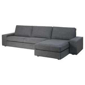 Funda: +chaiselongue/lejde gris/negro.