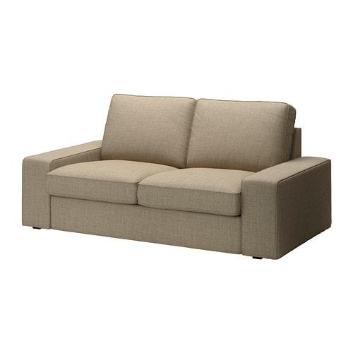 Kivik funda para sof de 2 plazas isunda beige ikea - Fundas de sofa de ikea ...