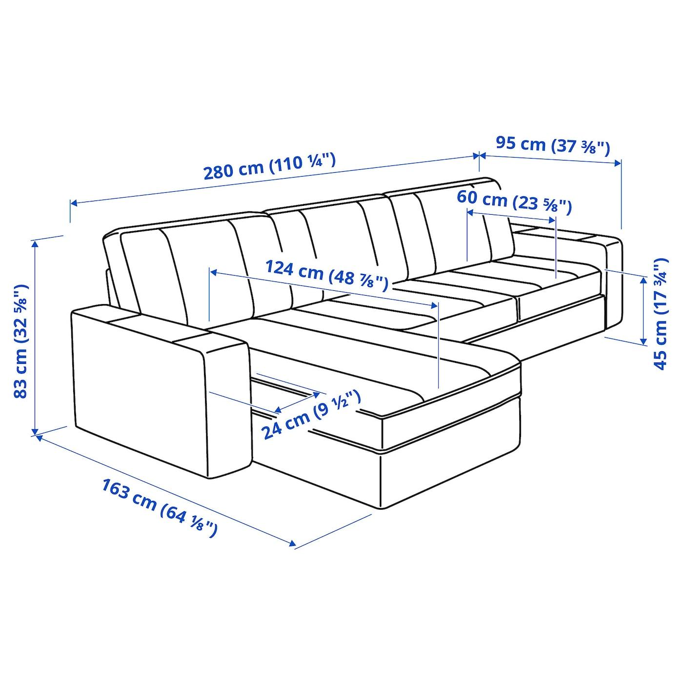 sofa kivik ikea 3 plazas medidas