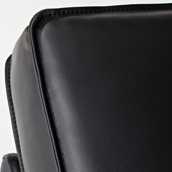 KIVIK Sofá 4 plazas, +chaiselongue/Grann/Bomstad negro