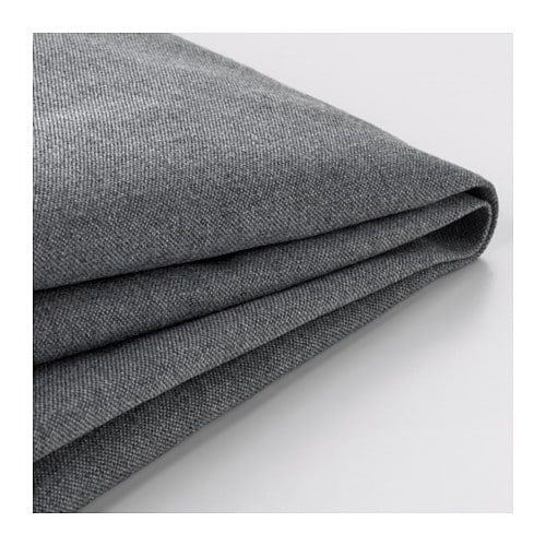 Klippan funda para sof de 2 plazas vissle gris ikea - Ikea fundas de sofas ...