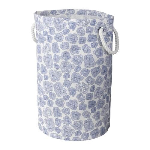 KLUNKA Bolsa para ropa, 60L. 59 cm. azul/blanco - Últimas unidades en IKEA Barakaldo