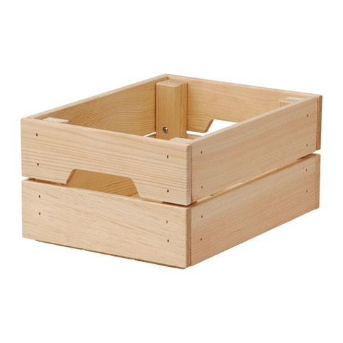 Knagglig caj n ikea - Caja madera ikea ...