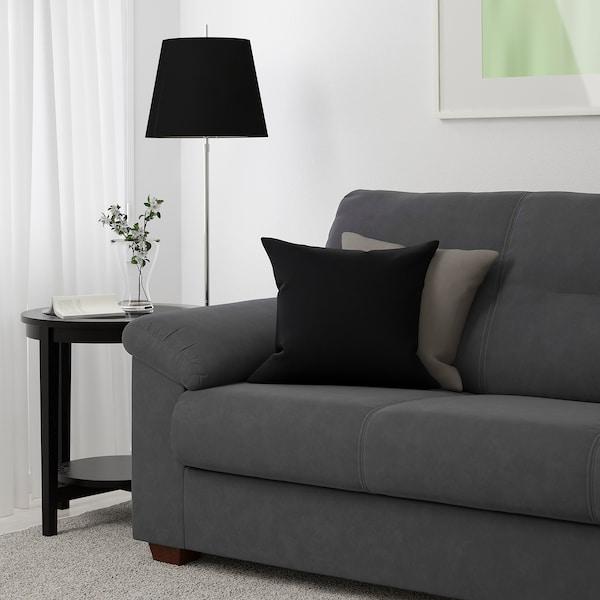 KNISLINGE sofá 3 plazas Samsta gris oscuro 205 cm 95 cm 89 cm 5 cm 18 cm 150 cm 55 cm 44 cm